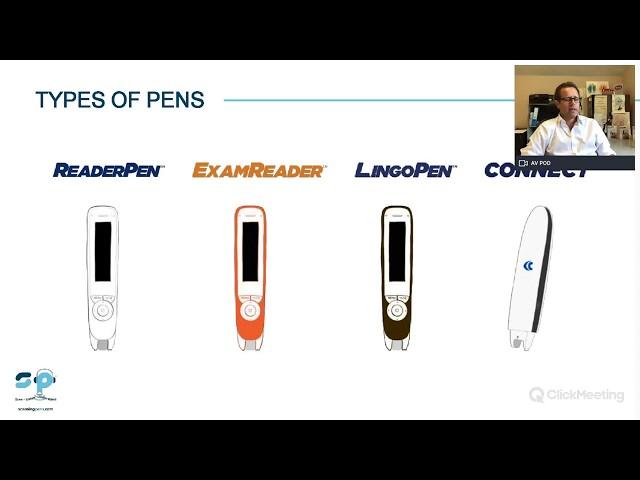 Scanning Pens