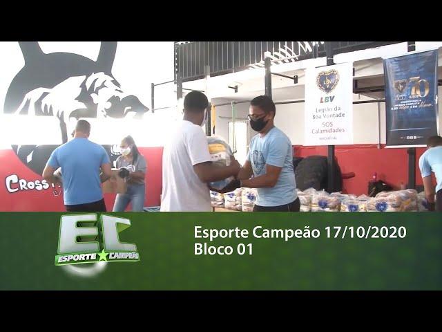 Esporte Campeão 17/10/2020 - Bloco 01