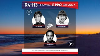 Round 4 Heat 3 FireWire E-Pro USA presented by Futures