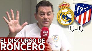 Real Madrid 0-0 Atlético | Roncero avisa a Lopetegui: ojo a los tres cambios que propone | Diario AS
