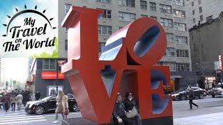 New York, Manhattan, прогулка по улицам, серия 492(Нью-Йорк расположился в устье реки Гудзон. Сегодня он разделен на 5 больших районов: Манхэттен, Бронкс, Брукл..., 2016-09-08T16:00:03.000Z)