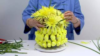 Easter Peeps in a Flower Arrangement!