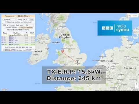 [AS] 104.3 MHz BBC Radio Cymru from Llangollen (Wales). 243 km distance