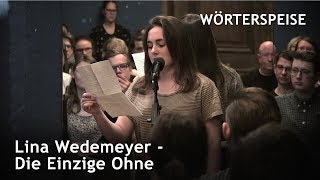 Lina Wedemeyer – Die Einzige Ohne