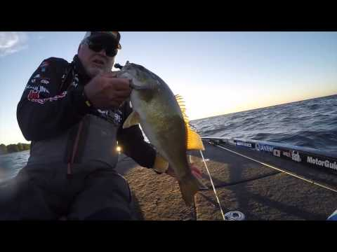 Tommy Biffle beats big waves and smallies at Mille Lacs