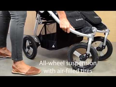 Bumbleride Indie Twin Stroller Features - Mobile