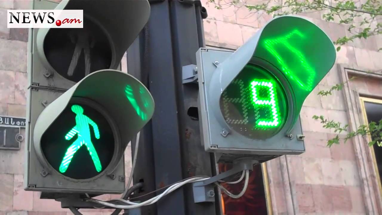 Traffic Light with sound signal - YouTube