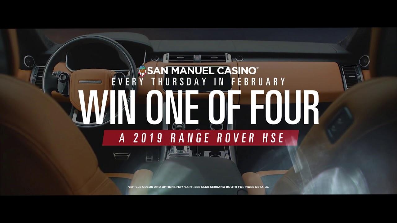 How to enter san manuel car giveaway