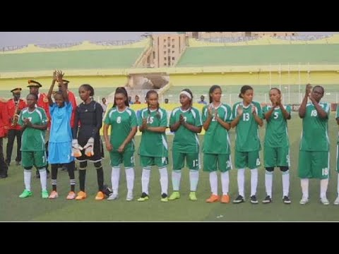 Video: Sudan women's soccer league kicks off