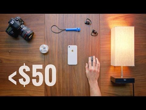 The Best Tech & Gadgets Under $50!