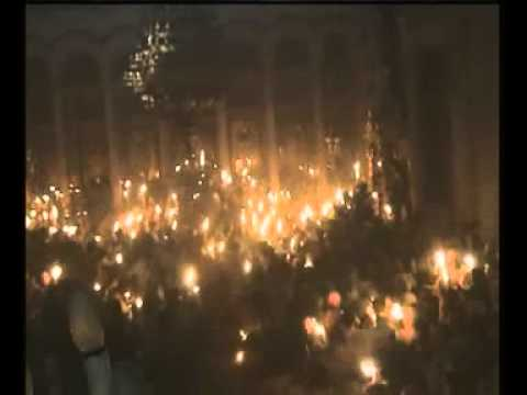 Jerusalem Orthodox Christians Holy Fire