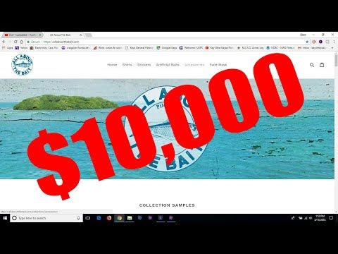 $10,000 First Day - All About The Bait