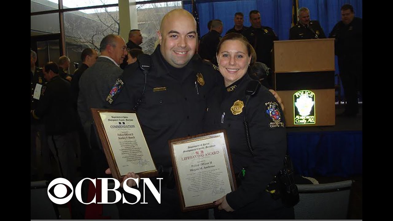 Cop receives life-changing letter from old partner