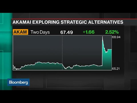 Akamai Is Said to Explore a Potential Sale