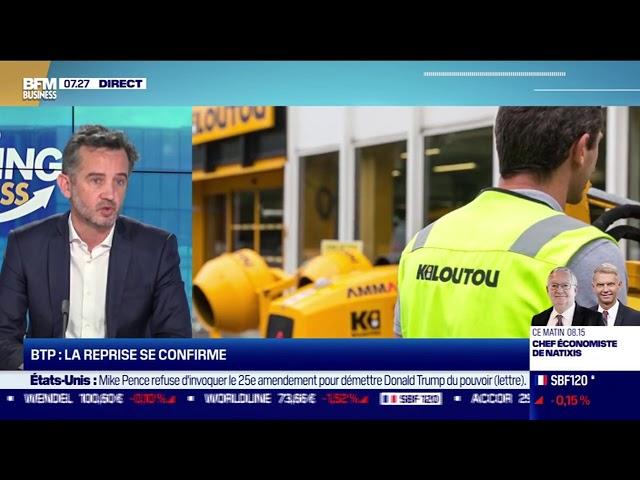Olivier Colleau (Kiloutou) : La reprise dans la BTP se confirme