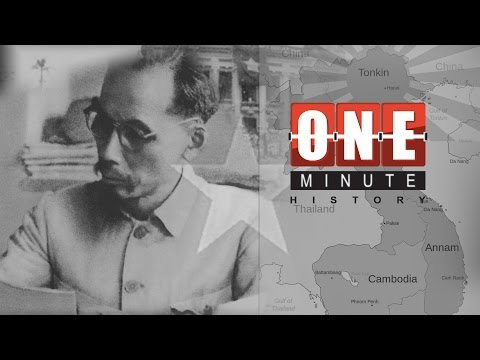 Ho Chi Minh and the rise of Vietnam - World War II - One Minute History