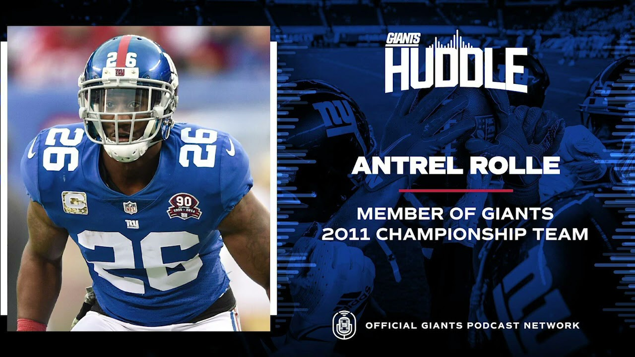 Antrel Rolle Reflects on Magical 2011 Championship Season | New York Giants