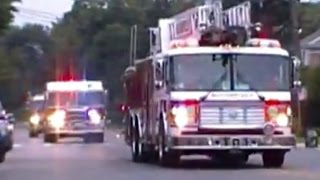 Fire Truck Responding Compilation Part 7