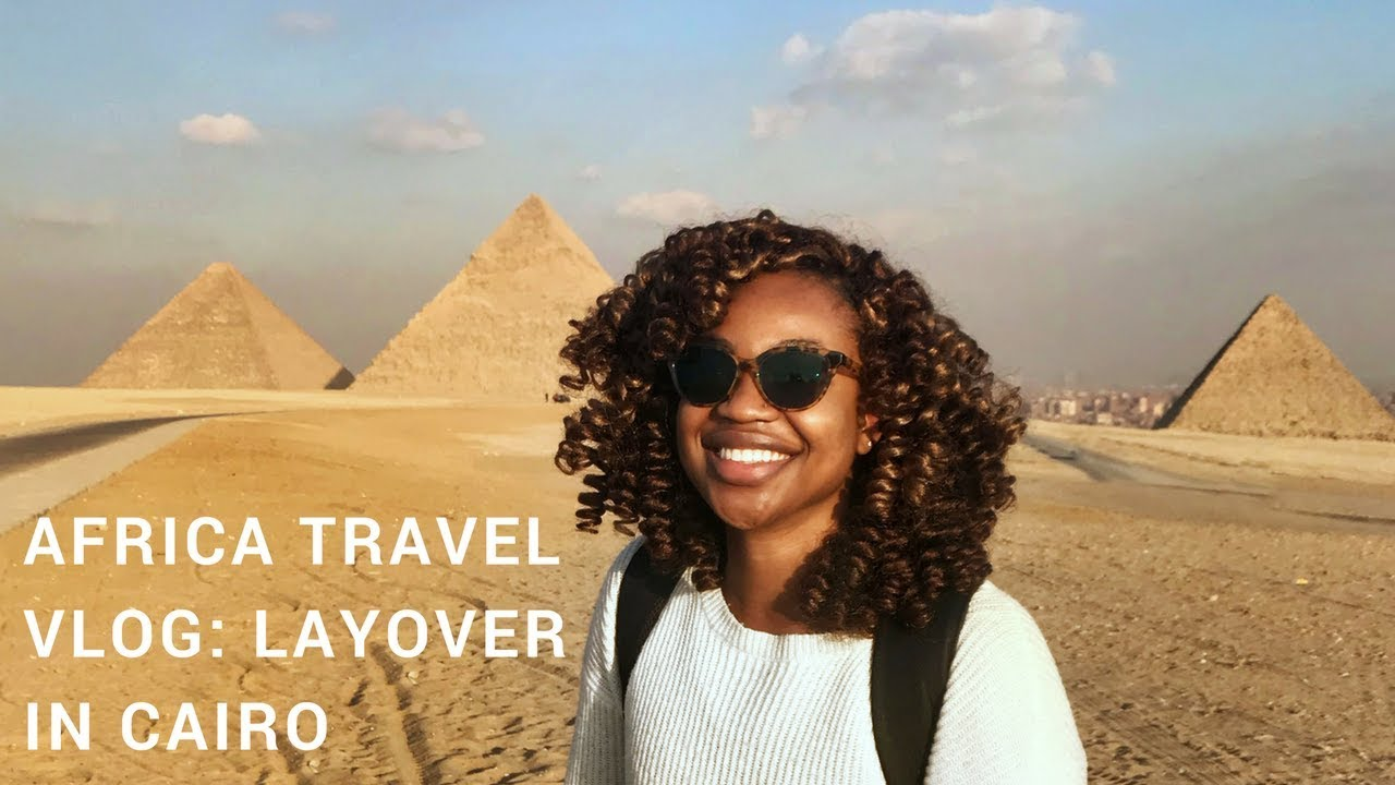 AFRICA TRAVEL VLOG: Cairo, Pyramids of Giza, & the Sphinx