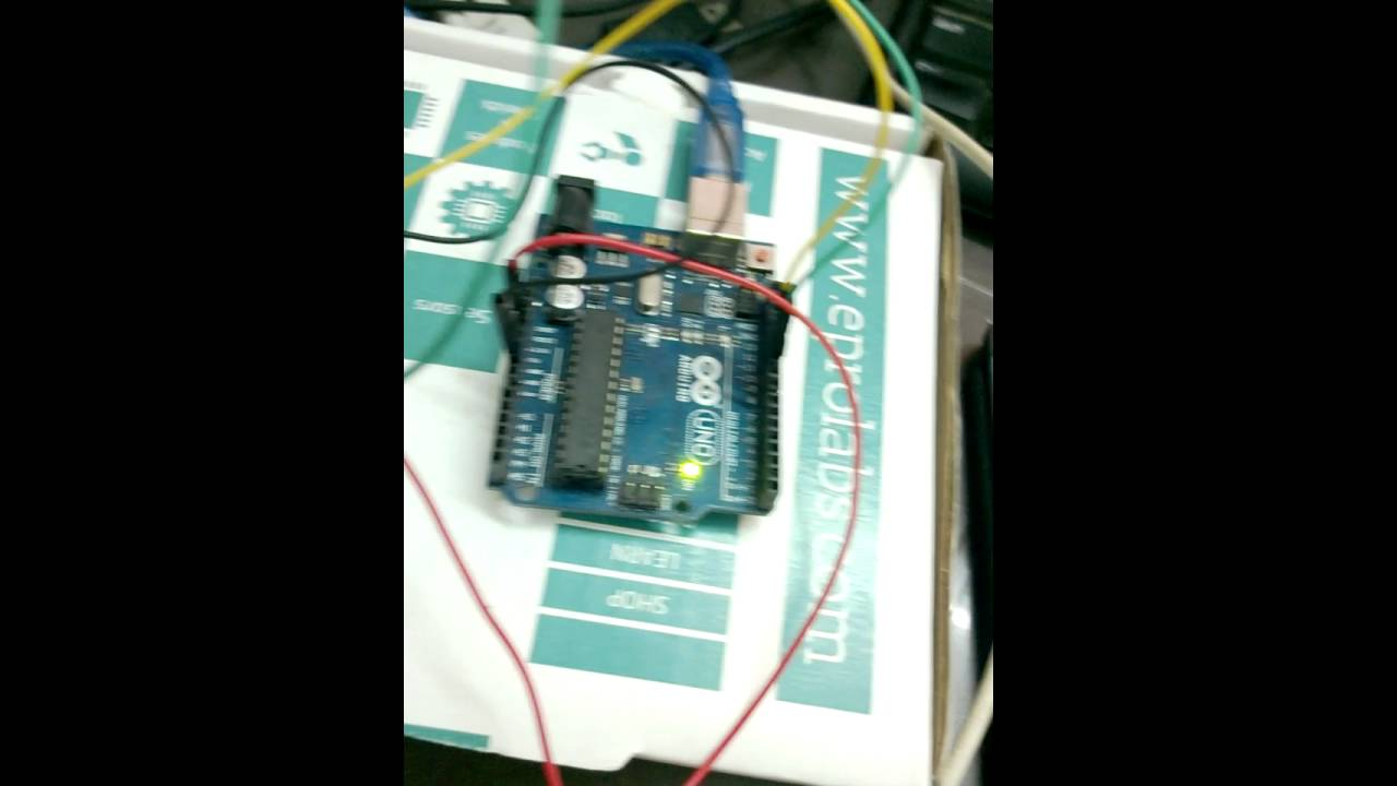 Led control on arduino hm 10 Blutooth LE and android with unity 3d