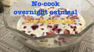 Quick,healthy & diet Overnight oats breakfast ~oats recipe for weight loss~oatmeal recipe