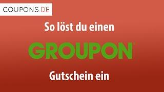 Groupon Gutschein einlösen – So geht's