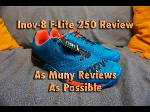 feebe995beb Inov-8 F-lite 250 Review - Hybrid Lifting Shoes! - Best Functional  Fitness Training Shoes