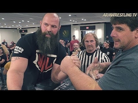 Michael TODD vs Jeff DABE | ARM WRESTLING