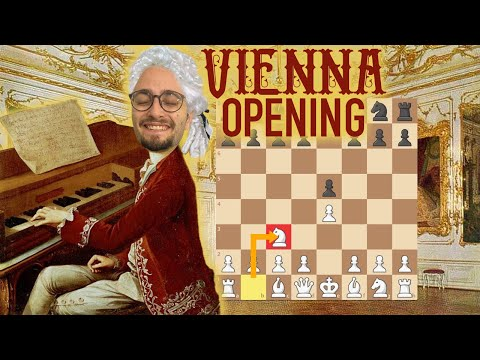 WIN WITH 1. E4 | The Vienna Gambit & System | Chess Openings