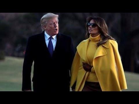Melania Trump Follows Barack Obama On Twitter But Not Any Of Her Stepchildren USUK News