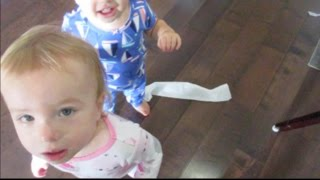 POTTY TRAINING TWINS FIRST ATTEMPT
