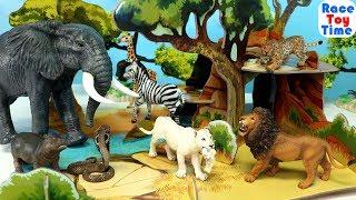 Papo Wildlife Animal Savanna Playset - Fun Animal Toys For Kids