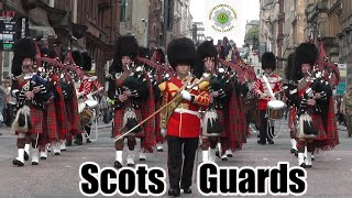 1st Battalion Scots Guards homecoming parade Glasgow 2013 thumbnail