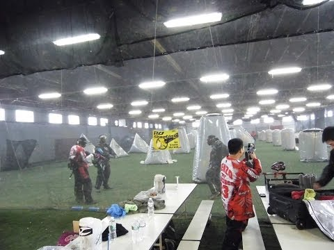 First Visit to HardCore Paintball in NJ 2014