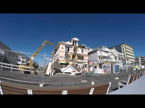 Fisher Architecture - Royalton Hotel in Ocean City, MD - Demolition