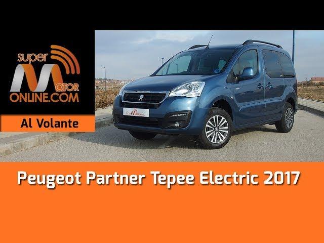 Peugeot Partner Tepee Electric 2017 / Al volante / Prueba dinámica / Review / Supermotoronline.com