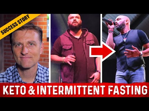 Keto Weight Loss - Intermittent Fasting [Before & After]: Dr.Berg's Interview With Donovan Duke