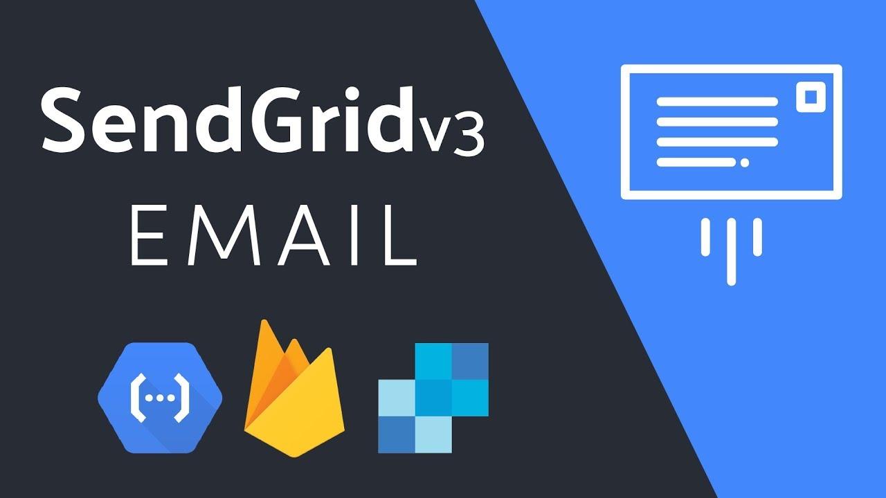 SendGrid Transactional Email via a Firestore Cloud Function - YouTube