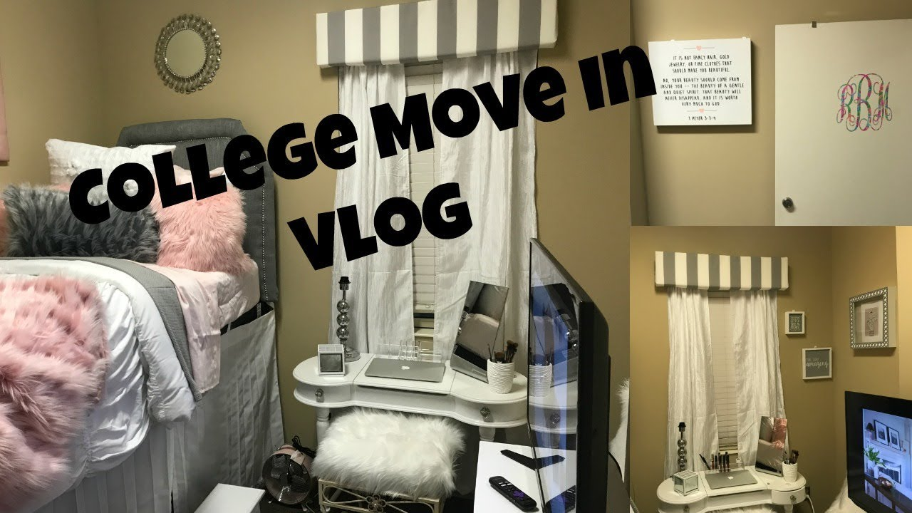 College Move In Day THE UNIVERSITY OF ALABAMA 2017 Vlog 3