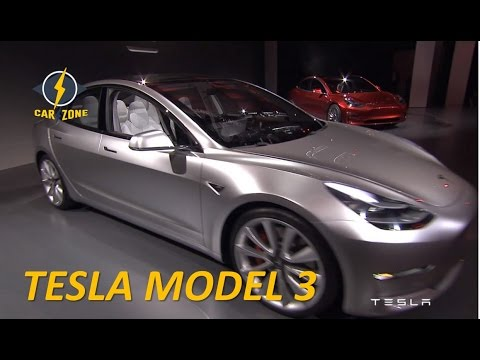 [HOT NEWS] 2018 Tesla Model 3 Review Interior & Exterior specs