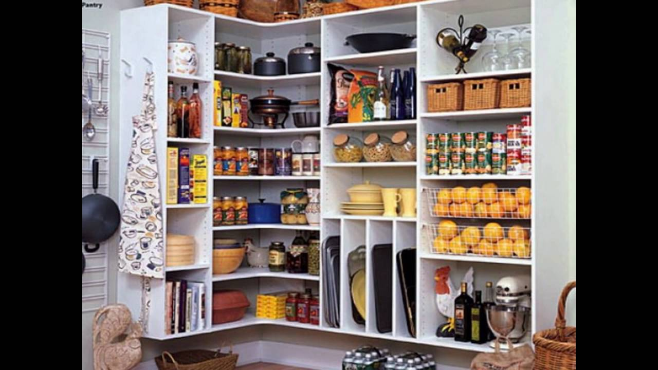 Kitchen Pantry Closet Organizers   YouTube