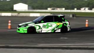 Forza 6 Honda Civic Type R 1997 Top Gear Test Drive Logitech g920