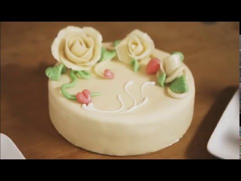 Marzipan cake recipe youtube
