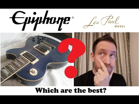 Best Epiphone Les Paul to buy: which are the good ones.