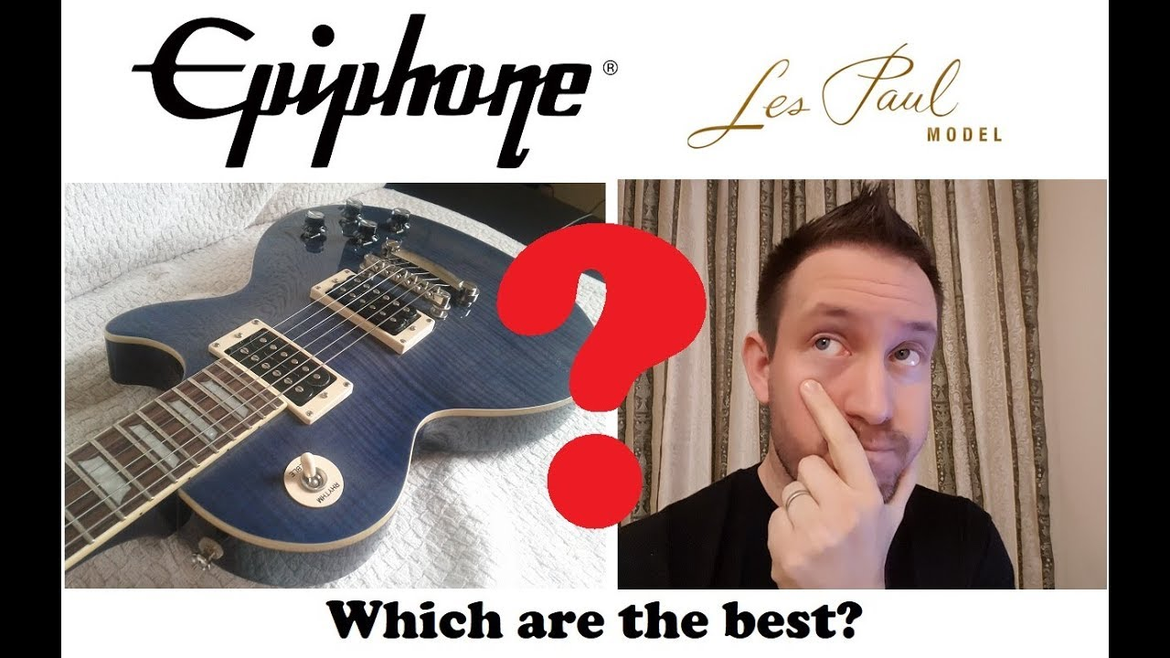 Best Epiphone Les Paul to buy: which are the good ones