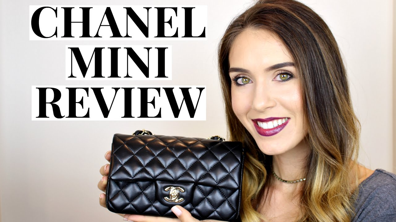 5860fff8b864 CHANEL RECTANGULAR MINI FLAP REVIEW