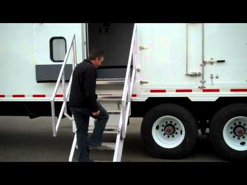 TriVan Truck Body - Oilfield Trailer