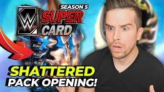 NEW SEASON!! SHATTERED PACK OPENING!! | WWE SuperCard Season 5 (#1)