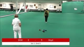 2018 Indoor Singles Championships: Women's Singles