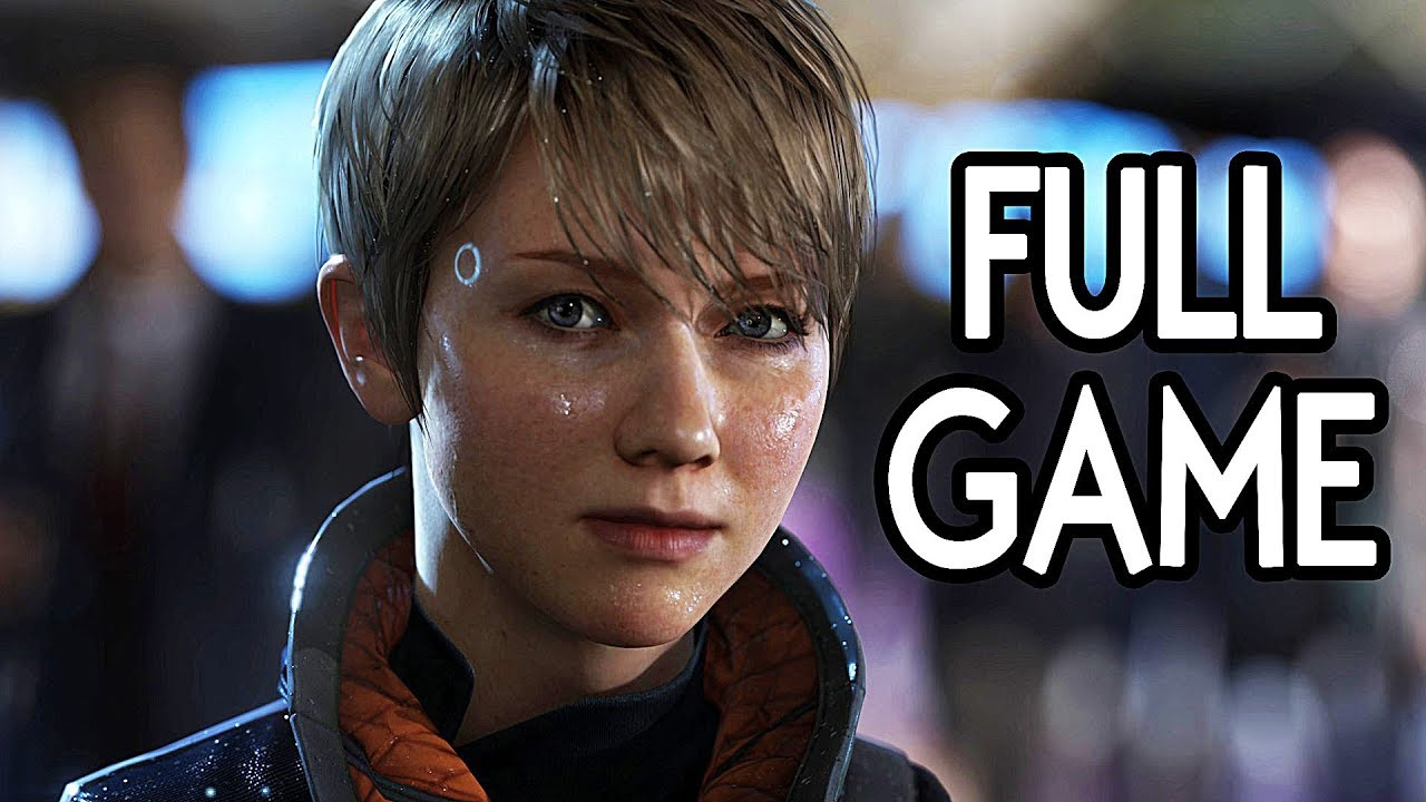 Download Detroit Become Human - FULL GAME Walkthrough Gameplay No Commentary (Everyone Survives)